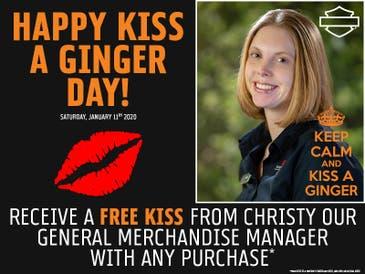 Jan 11 | National Kiss A Ginger Day at Heritage Harley ...