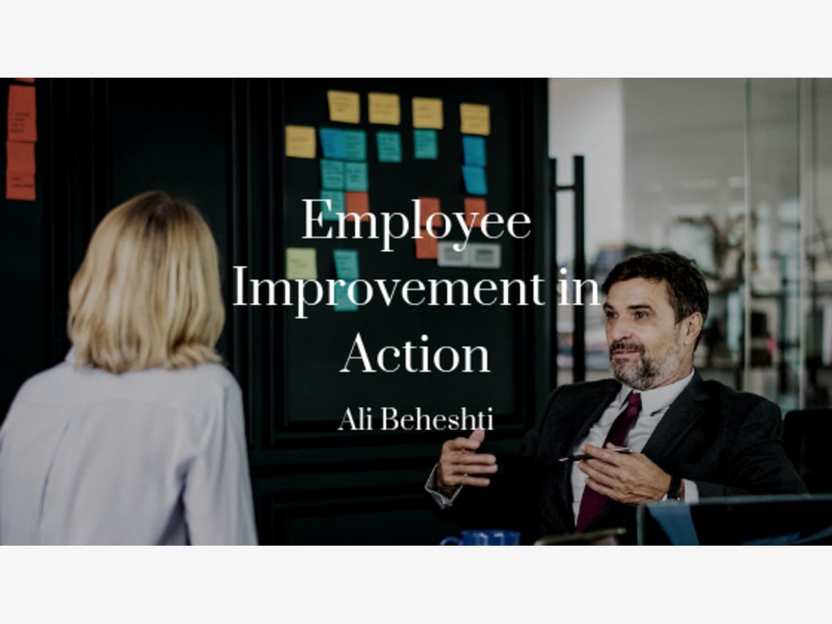 Ali Beheshti, CEO @ Zealie, on Employee Improvement | Newport Beach