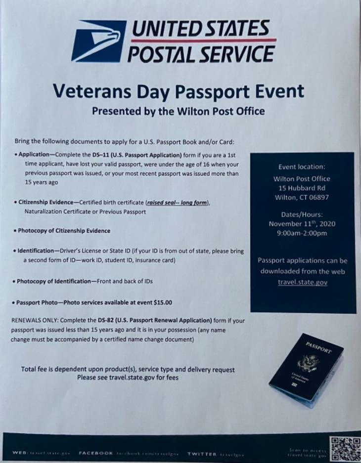 Veteran's Day Passport Event