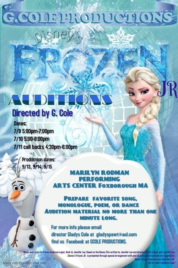 Jul 9   Frozen Jr  Auditions   Foxborough, MA Patch