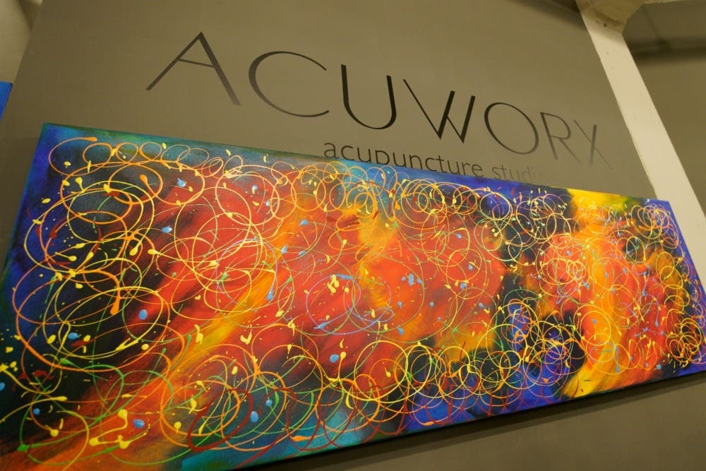 Local Artist Mark Finne Opens Spring Art Show at Acuworx ...