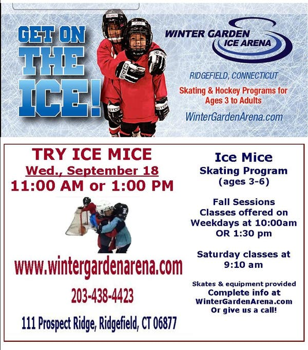 Sep 18 Try Ice Mice Skating Class At Winter Garden Ice