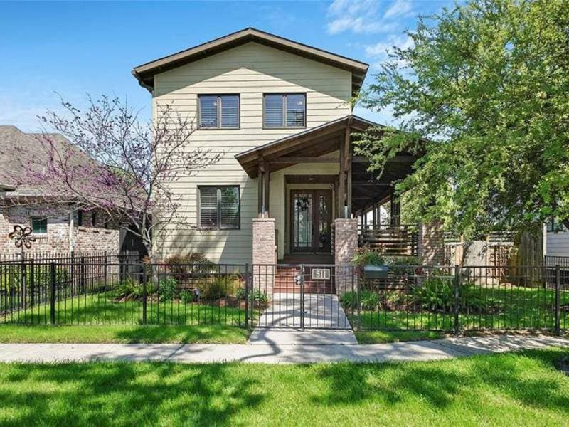 5 New Houses For Sale In The Houston Heights Area