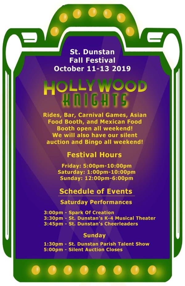 St. Dunstan Parish Fall Festival