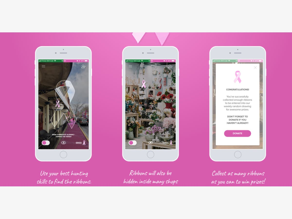 Announcing The Pine2Pink Scavenger Hunt (free) App   Doylestown, PA