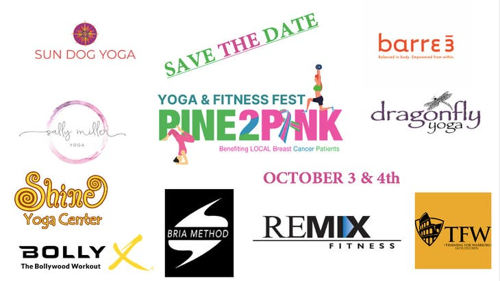 Pine2Pink Yoga and Fitness Fest October 3rd and 4th
