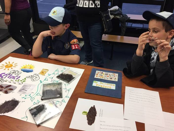 Cub Scouts Make Important Scientific Discovery