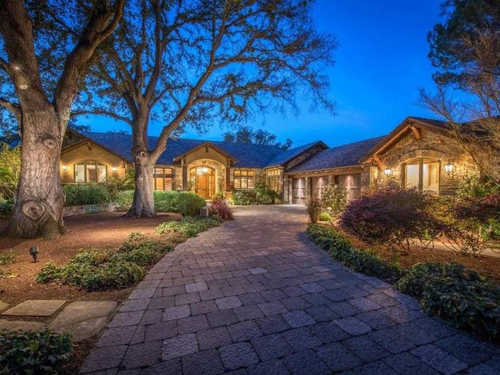 Gated Luxury Estate In Saratoga Will Take Your Breath Away
