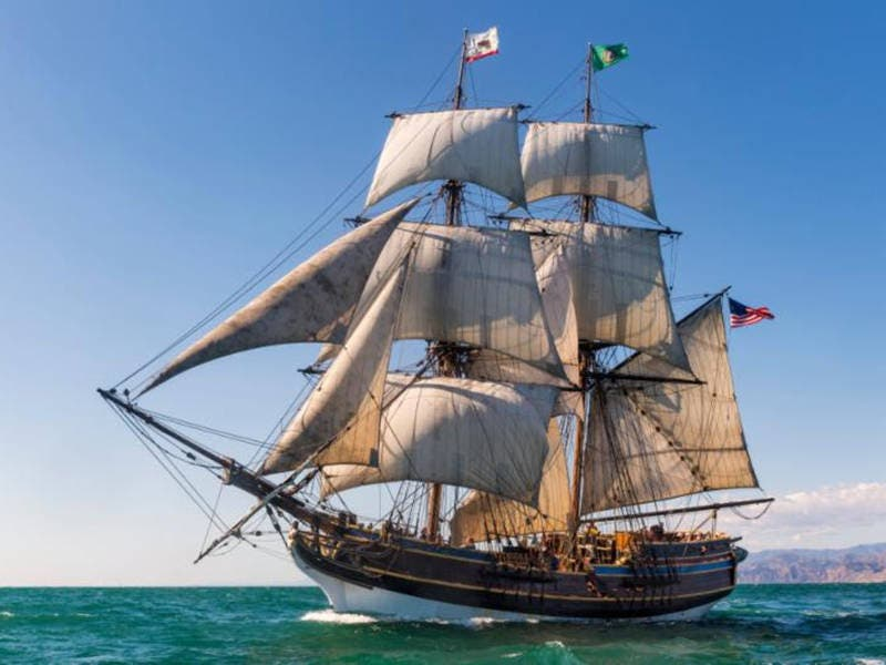 Tall Ships To Be Celebrated In Redwood City