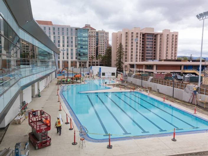 San Jose State Opening 130 Million Aquatic Center