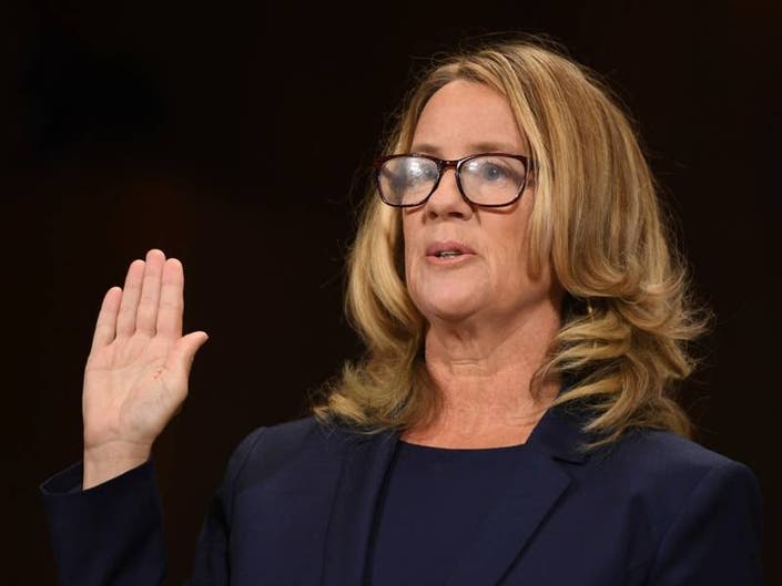Time Lists Christine Blasey Ford As 1 in 100 Most Influential