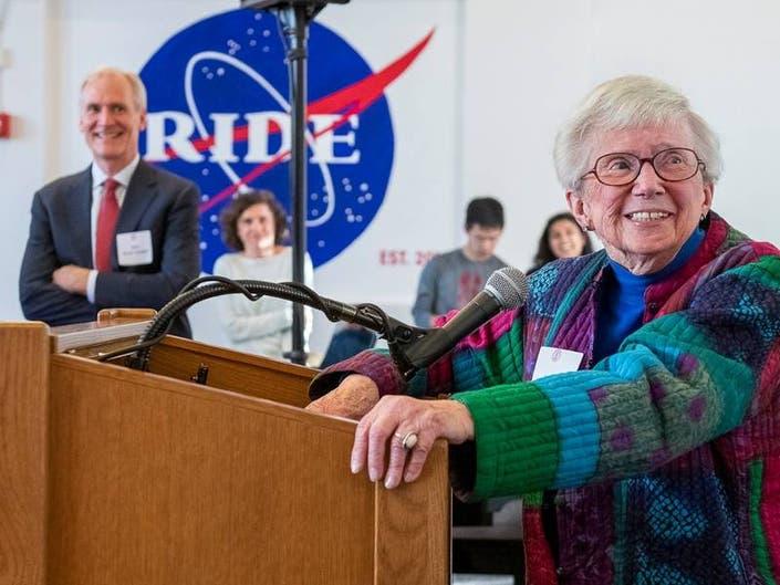 Stanford Honored Alumnus, Astronaut Sally Ride