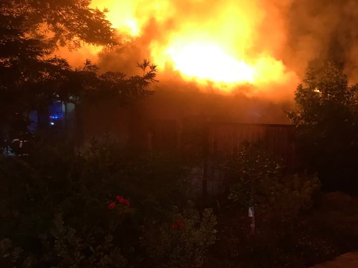 Los Altos House Fire Displaces 5, Damages Much Of Residence