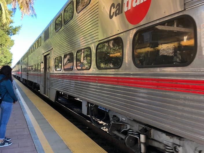 Person Struck By Caltrain At Mountain View Station