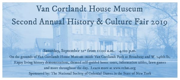 Sep 21 | History and Culture Fair - VCHM/Smithsonian Museum