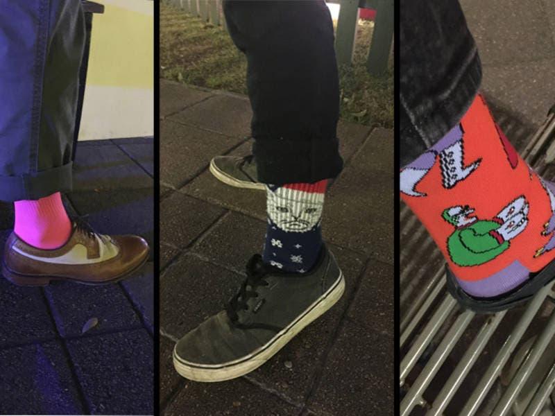 George H W Bush Memorial Features Fun Socks Touching Tributes