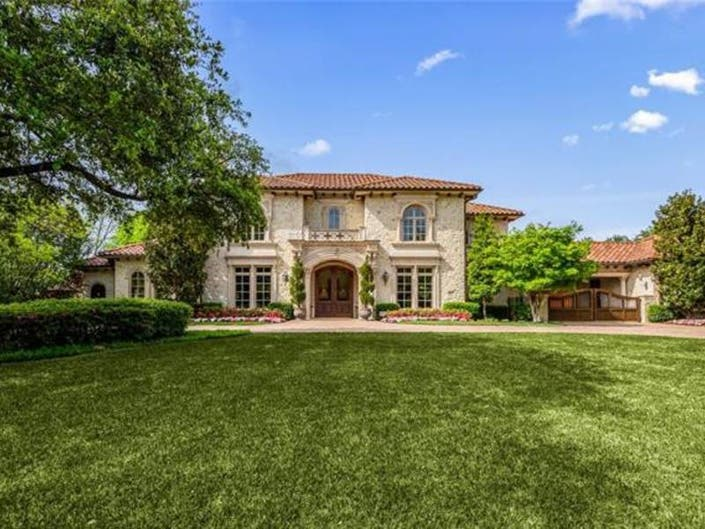 Mediterranean Mansion For Sale In Dallas