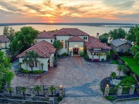 Spanish-Style Mansion For Sale In Fort Worth