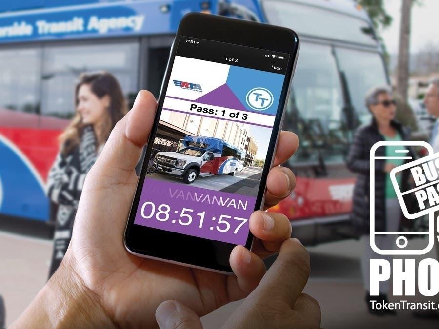 For RTA Customers, Their Phone is Their Bus Pass | Murrieta