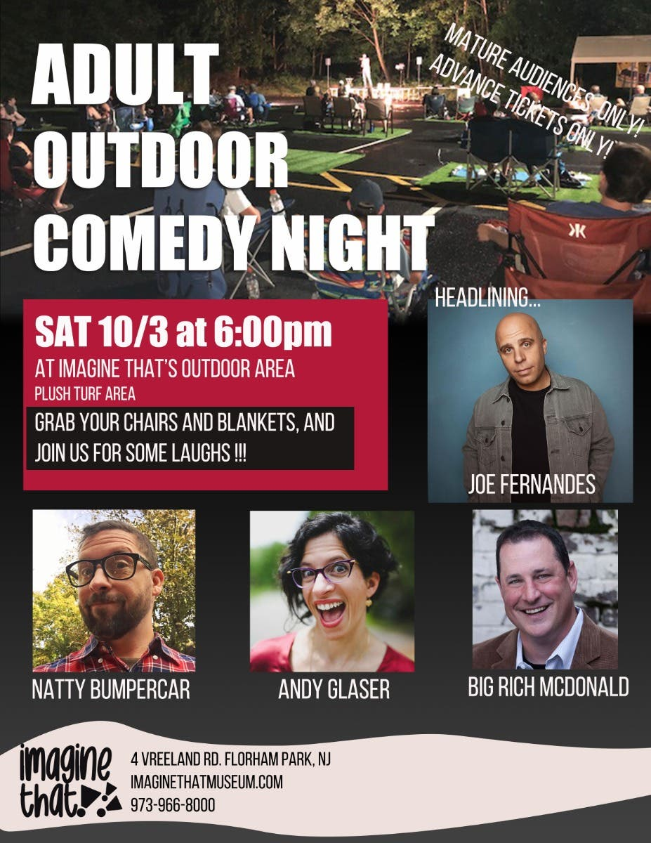 Outdoor Adult Comedy Night