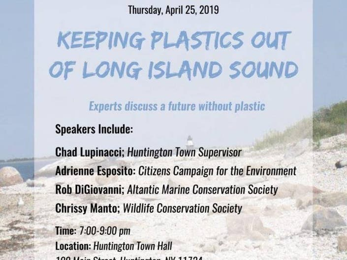 Town Hosting Forum On Keeping LI Sound Clean