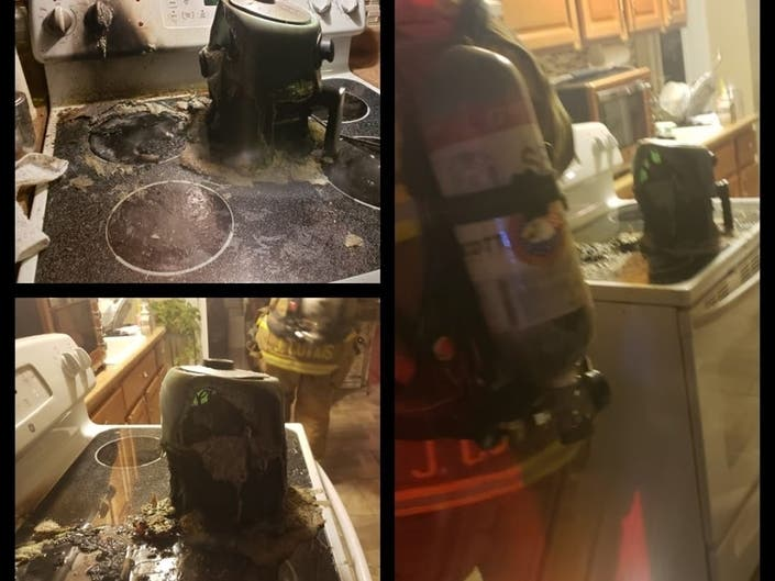 Air Fryer Catches Fire In Two-Family Home In Sayville