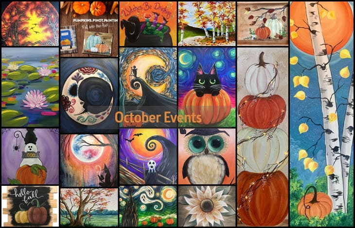 Fall Events at Pinot's Palette RSM