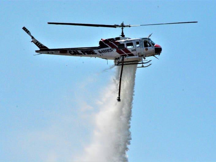 50 Acre Brush Fire | Lake Elsinore, CA Patch