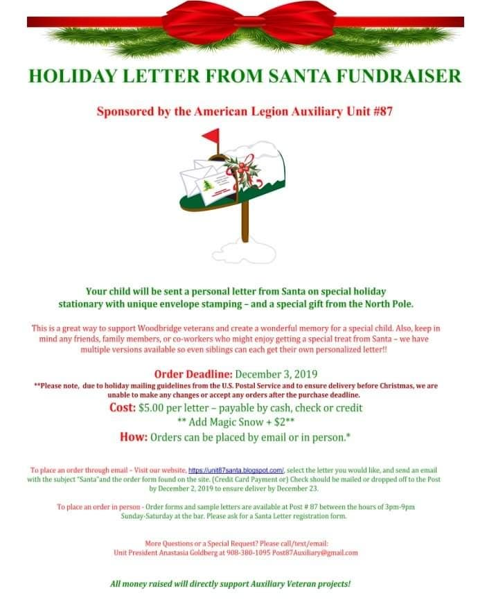 Nov 14 | Woodbridge ALA Santa Letter Sale 🎅 | Woodbridge - Patch.com