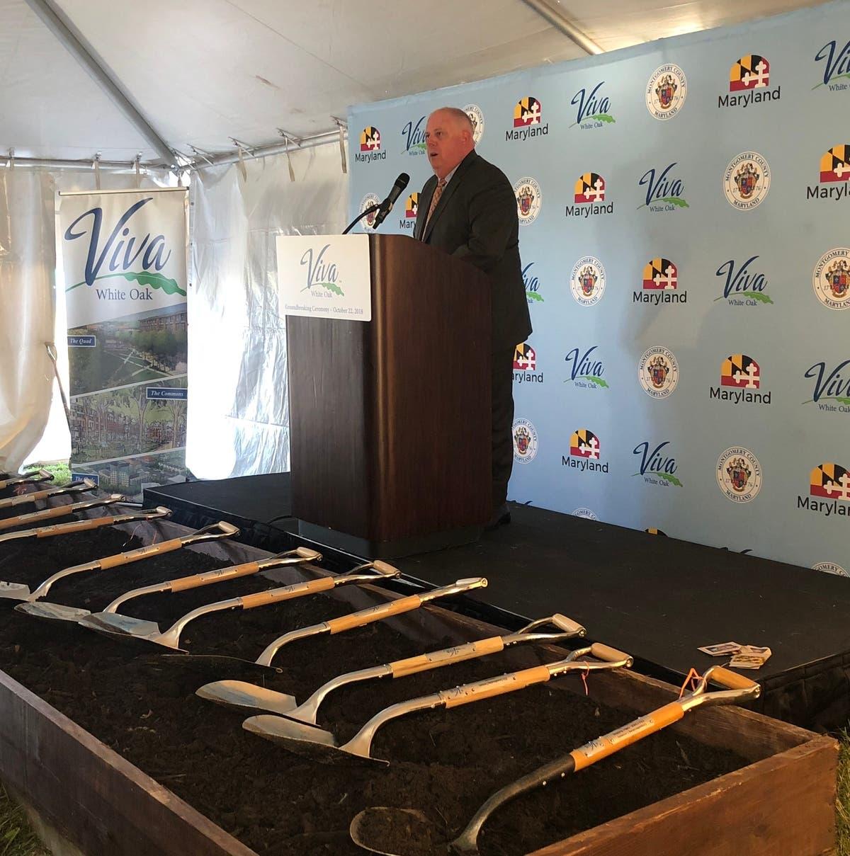 White Oak Maryland: Gov. Hogan, Officials Lead VIVA White Oak Groundbreaking
