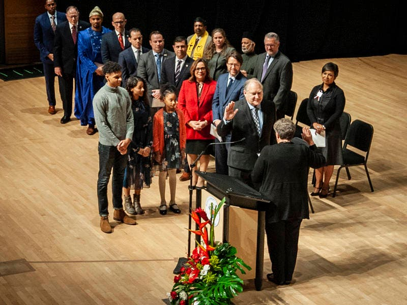 County Executive Marc Elrich, Council Are Sworn In To Office
