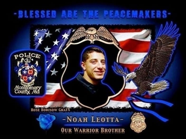 A blood drive will be held in honor of Montgomery County Police Officer Noah Leotta, who was killed by a drink driver in 2015.