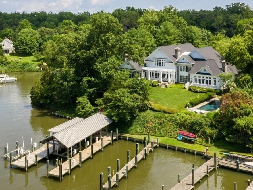 MD Dream Homes: Mediterranean Manor; $6M Oasis; Glass-Clad House