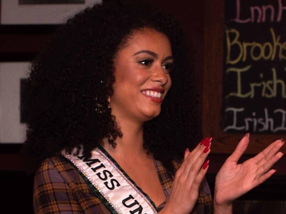 Miss Universe Ireland Celebrates Her Roots At The Irish Inn