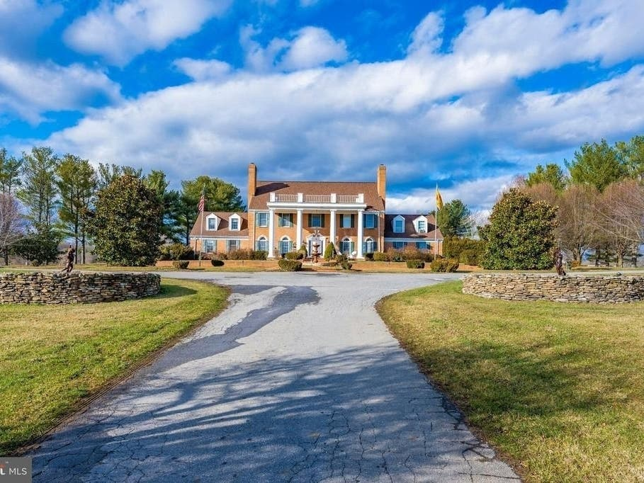 20-Acre Equestrian Estate In Gaithersburg Has Wine Cellar, Pool