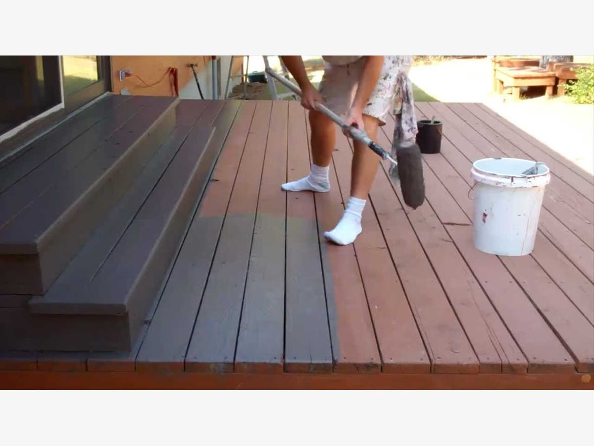 Painting My Deck What Do I Use And How Boston Ma Patch