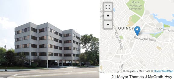 Office Suites Available for Rent - Quincy, MA Patch