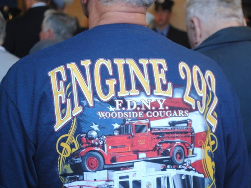 FDNY Celebrates 100 Years Of Woodside's Engine 292-0