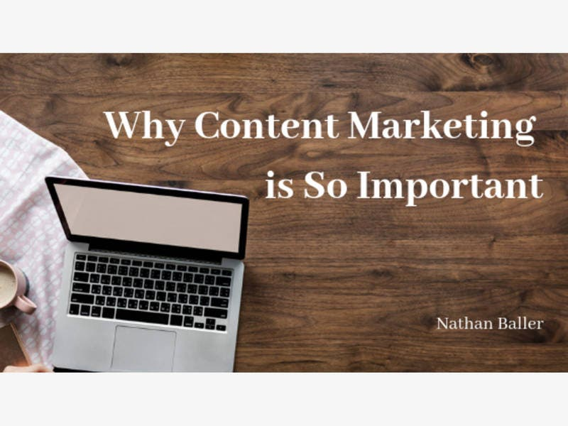 Why Content Marketing is So Important