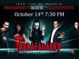 ABRACADABRA Live on Tour! Coming To The Rialto This October