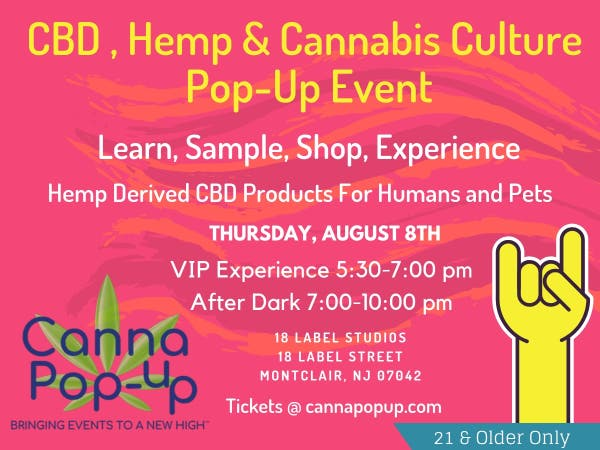 CBD, Hemp and Cannabis Culture Pop-Up