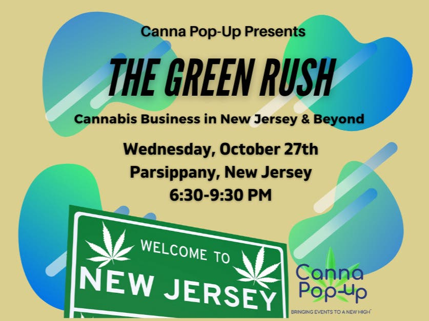 Cannabis Business Event for the Canna Curious! Wed. Oct. 27