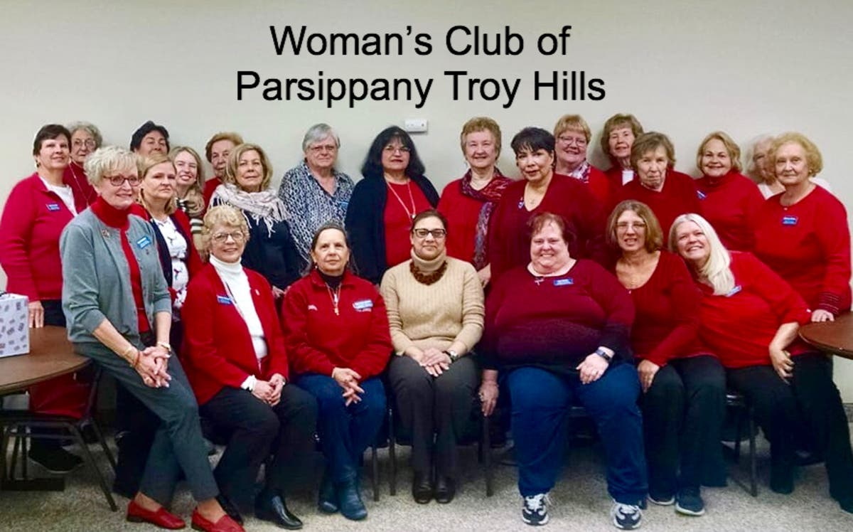 Woman's Club of Parsippany Troy Hills Honors American Heart Month