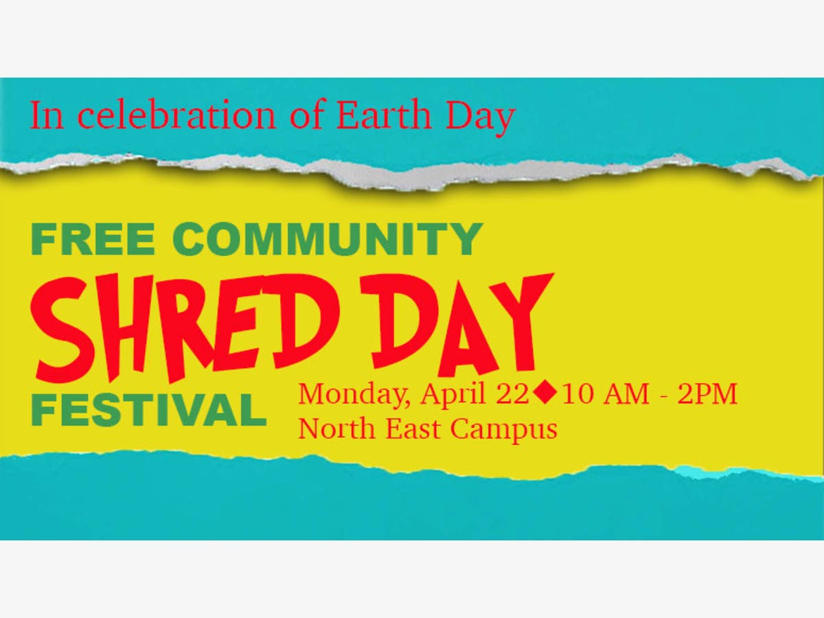 Cecil College Shred Day celebrates Earth Day   Perryville