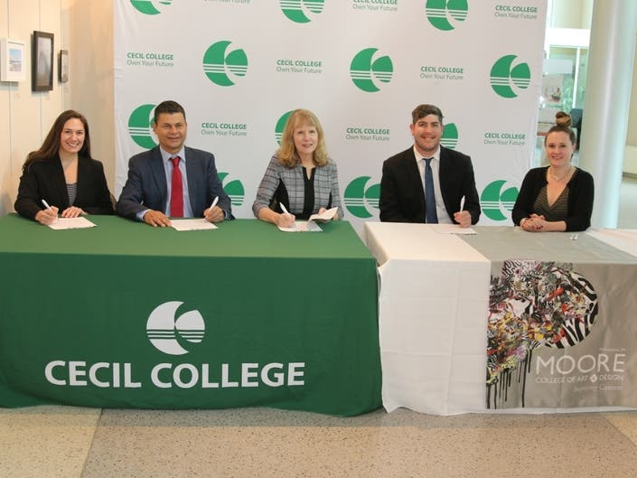 Cecil College Creates Seamless Transfer Process To Moore