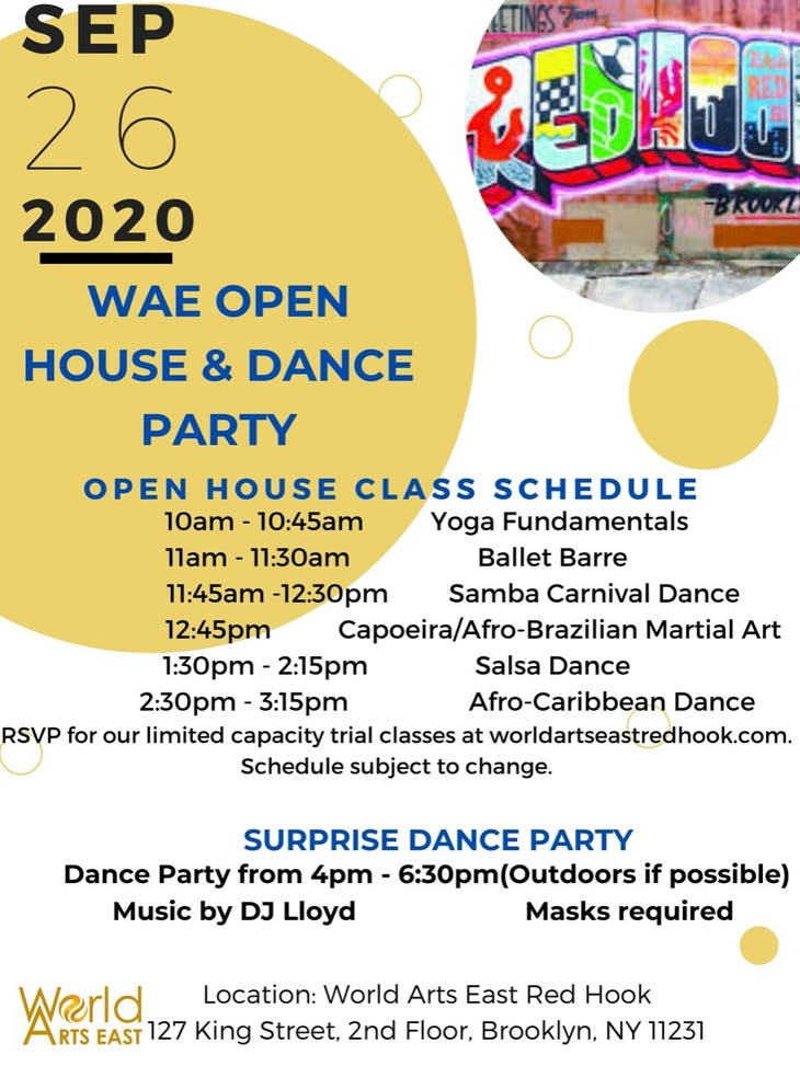 World Arts East Open House