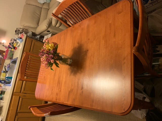 Cherry wood kitchen table - Manville, NJ Patch
