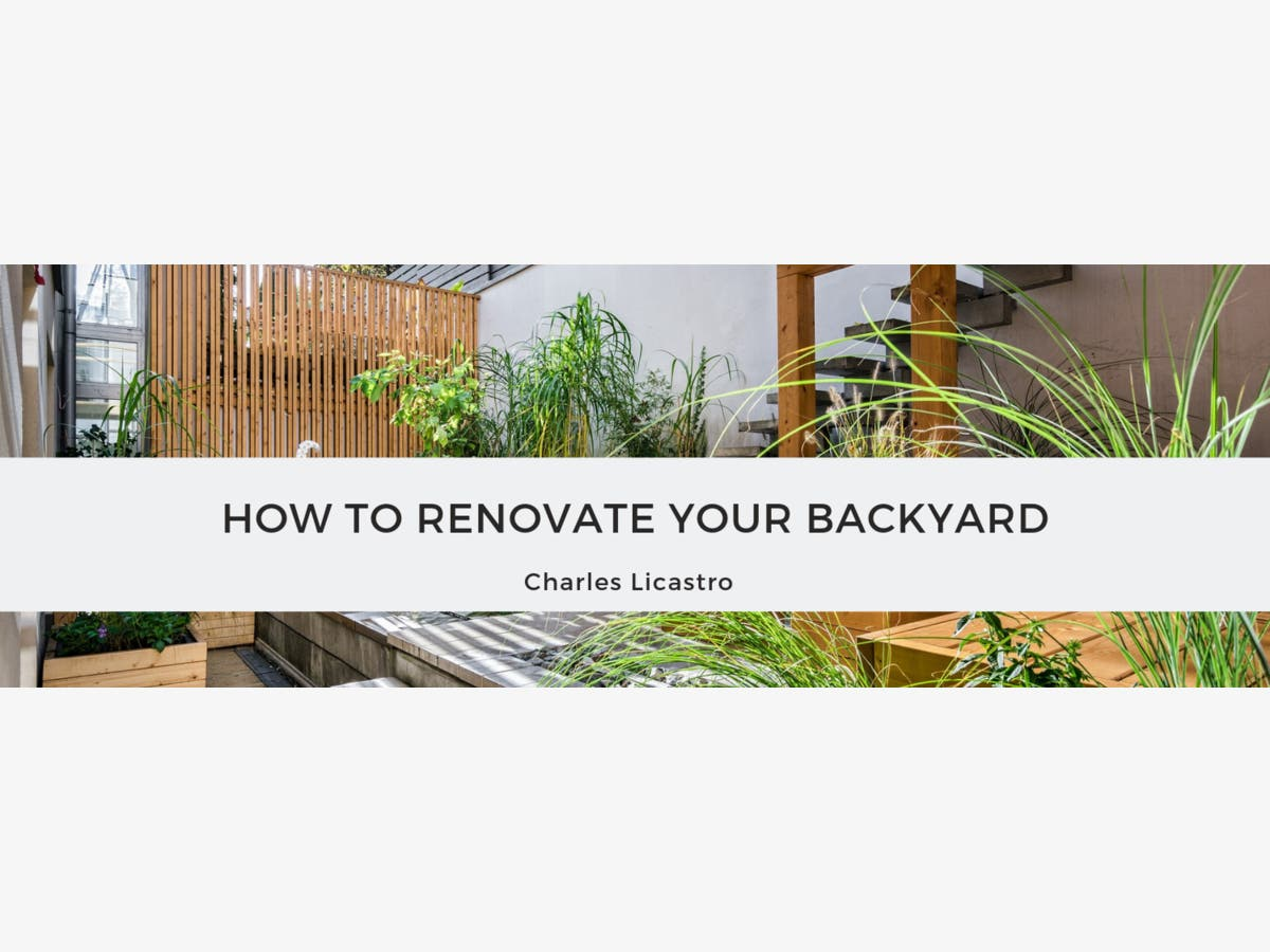 How To Renovate Your Backyard Morristown Nj Patch