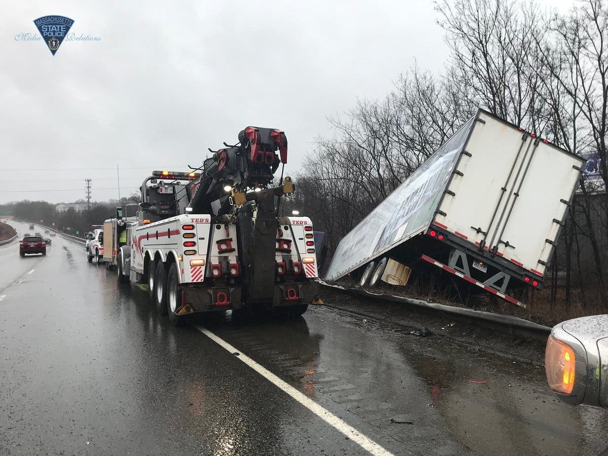 Crash Closes I-495 Lane | Marlborough, MA Patch