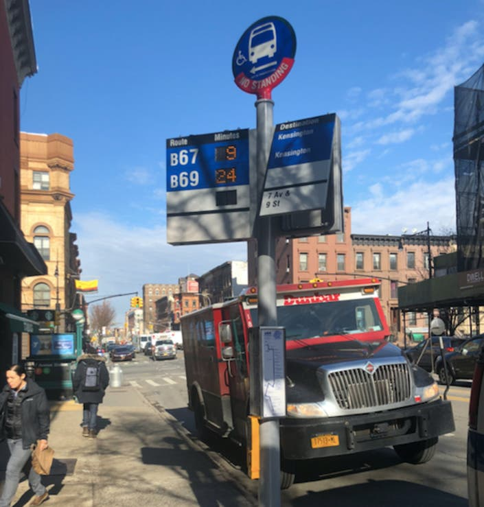 Incessant 7th Ave Bus Stop Gong Noise Drives Park Slopers